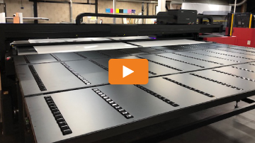 LED platen printen